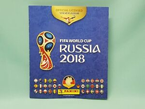Panini-WM-2018-Russia-World-Cup-Sticker-Sammelalbum-Album-Leeralbum-Neu