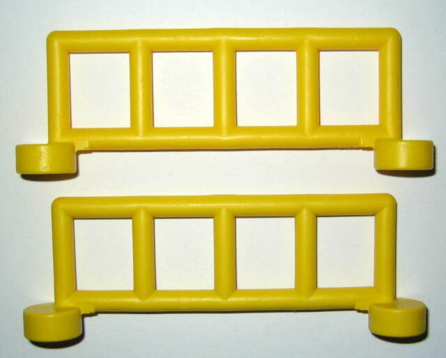 yellow Lego Duplo Item Rail Fence 2