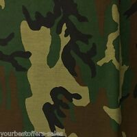 Camouflage Fabric, Army Camo Fabric, Army Green Fabric, Poly Cotton Fabric 60