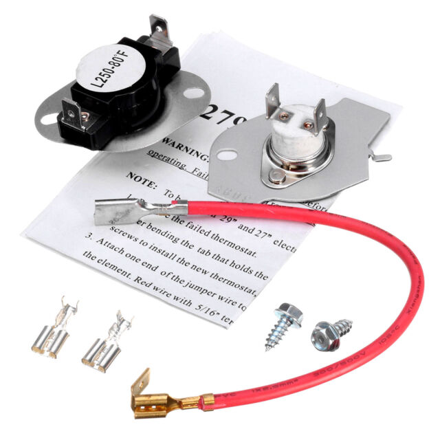 180 DEGREE HIGH LIMIT THERMOSTAT FOR DRYER PART# L180