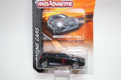 Schwarz Nr 1 Racing Cars Majorette 212084009 Mercedes-Benz A-Class Neu