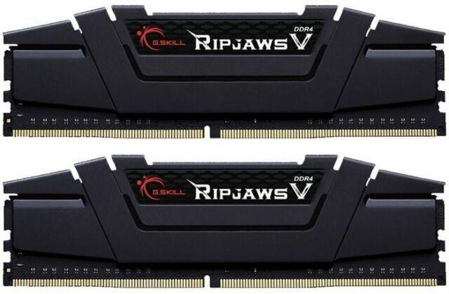 32GB G.Skill F4-3200C16D-32GVK RipJaws V Kit schwarz