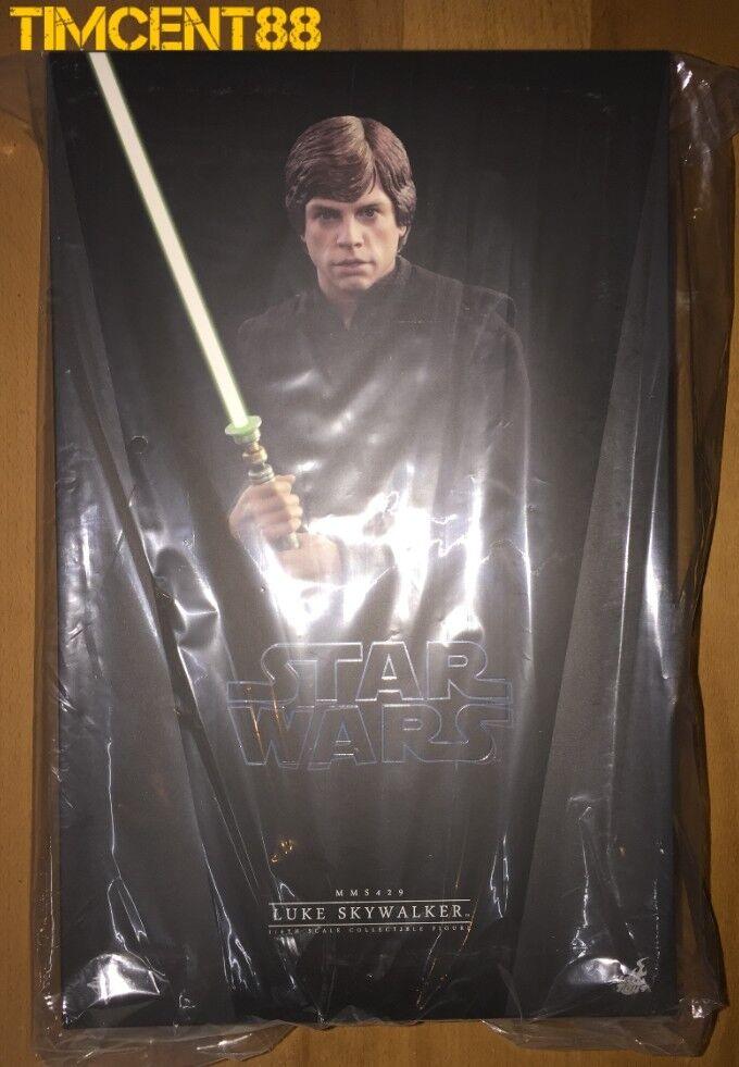 Ready Hot Toys MMS429 Star Wars  VI Le Retour du Jedi Luke Skywalker de Mark Hamill  service honnête
