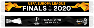 "UEFA Europa League Scarf Printed /""Final 2020 Cologne/"""