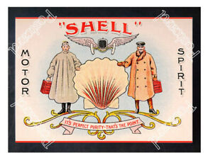 Historic-Shell-Motor-Spirit-1910s-Advertising-Postcard-1