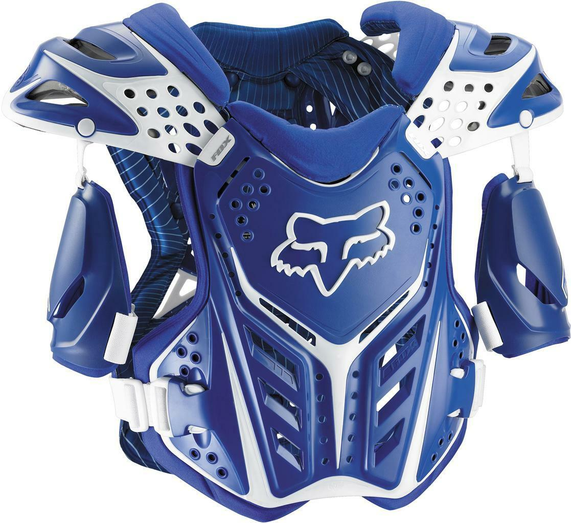 Fox Racing Raceframe Roost Deflektor Medium Blau