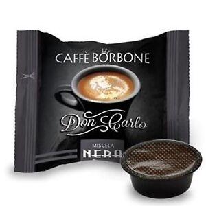 200-capsule-caffe-BORBONE-miscela-NERA-comp-Lavazza-a-Modo-Mio-nero-cialde