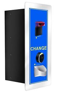 Coin changer coin vending machine, card reader, hopper extension