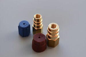 Adapter Retrofit Anschluss 3//16 SAE Klimaanlagen Umrüstsatz R12 auf R134a