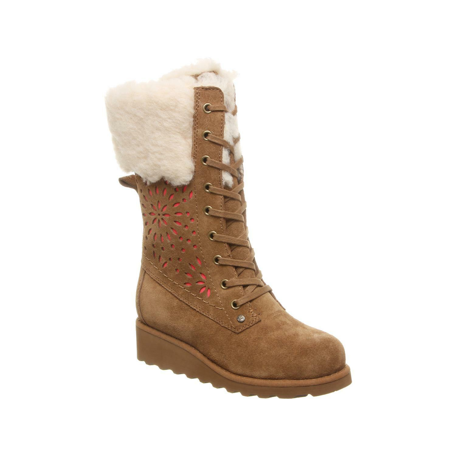 Bearpaw Kylie Youth 9 Inch Kids' Boot 2144y Hickory 3 M Us Little Kid