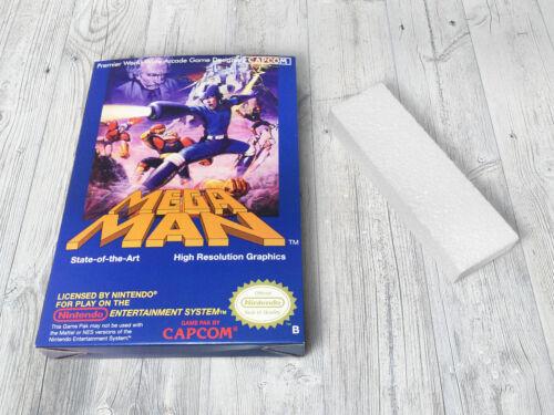 Mega Man Box Boite NES