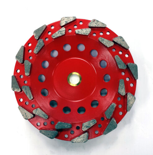 "7/"" Aggressive #20//25 Grit Pro Diamond Grinding Cup Wheel PREMIUM QUALITY"