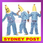 Bananas in Pyjamas Adult Mens Womens TV Yellow Fancy Dress Unisex Costume Outfit