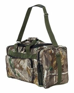 ef371d281f LICENSED CAMO HUNTING DUFFLE BAG - MOSSY OAK