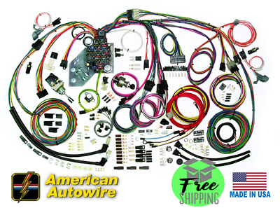 19 61 62 63 64 Chevy Impala Complete Wiring Harness - American Autowire  510063 | eBay