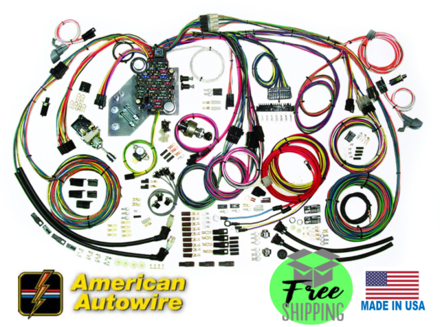 [DIAGRAM_1JK]  1955 1956 Chevy Complete Wire Harness Kit Direct Fit for sale online | eBay | 1956 Chevy Wiring Harness |  | eBay