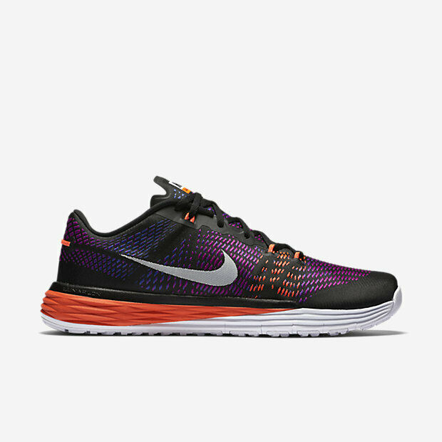 Nike Men's Lunar Caldra Trainer Black White Hyper purple Concord