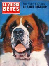 La Vie des Bêtes n°9 - 1959 - Le Saint Bernard - Les Bisons Canadiens - Bécasse