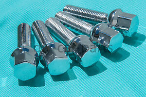 Set-of-20-Chrome-Mercedes-Lug-Bolts-Nuts-C280-C350-CLK500-SLK350-SL500-C55-AMG