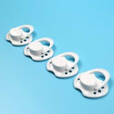 Dummy White Magnetic Pacifier for Internal Magnet Reborn Baby Dolls Accessories
