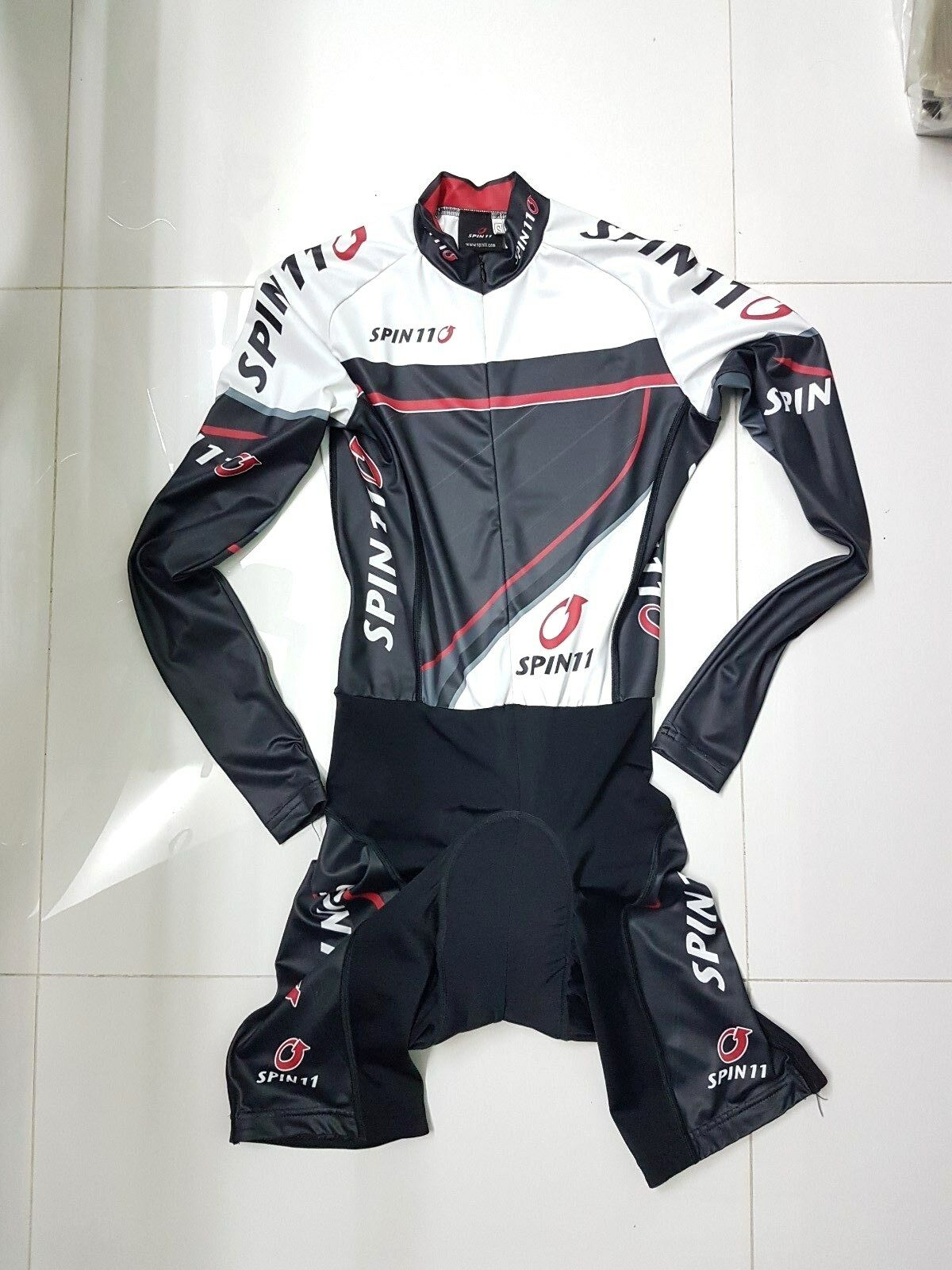 Spin11 Cycling skinsuit in long sleeve