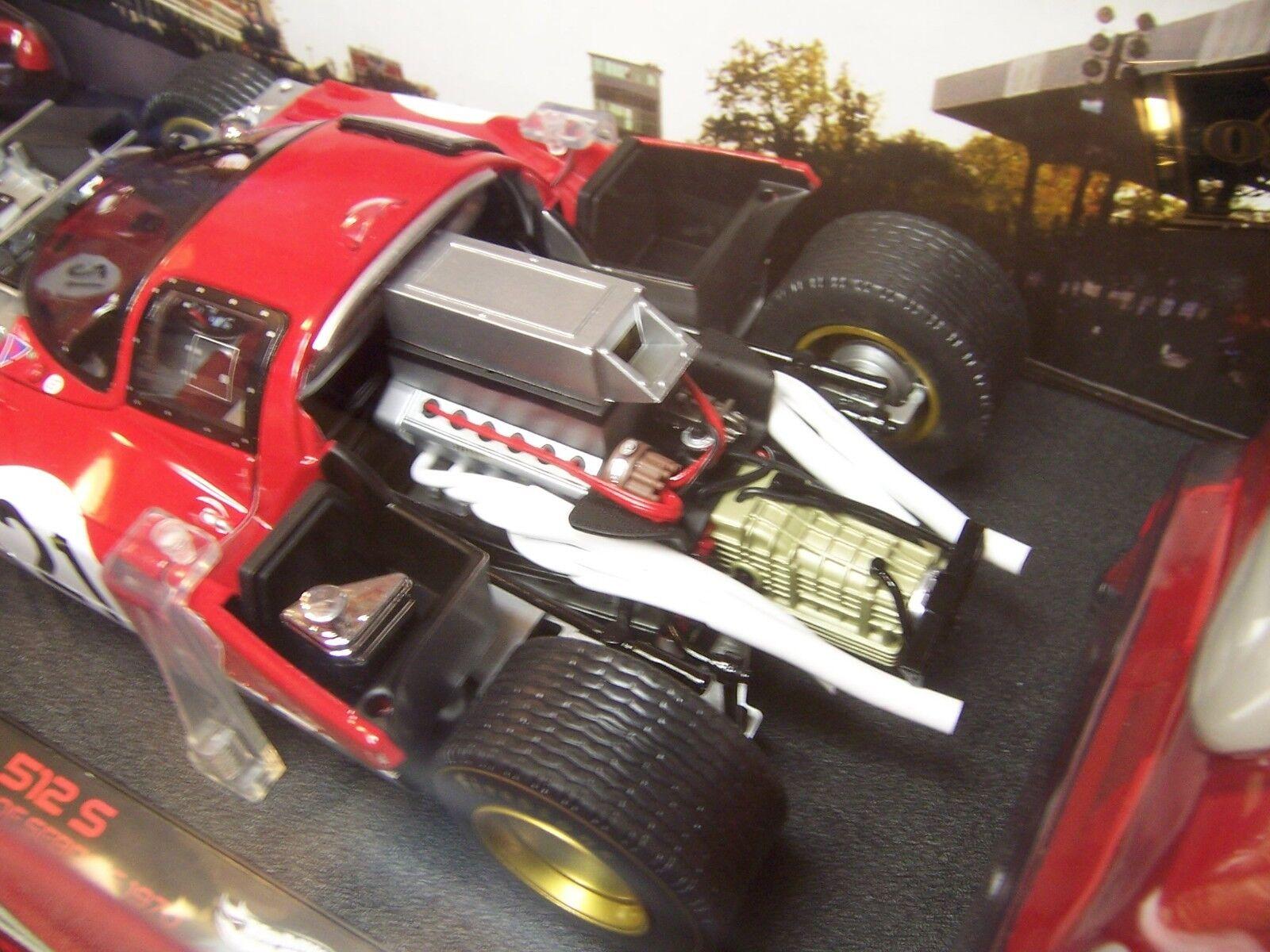 diseñador en linea Hot Wheels Wheels Wheels Elite Ferrari 512 S  21, 12 horas de Sebring 1of 5,000 Raro Nuevo en Caja  punto de venta barato