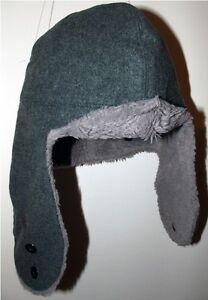 vintage swiss military army winter wool hat LUpress marked surplus ... 6fe1de5590f