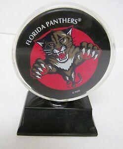 Vtg Florida Panthers Hockey Puck Fest 98 Nhl National Car Rental