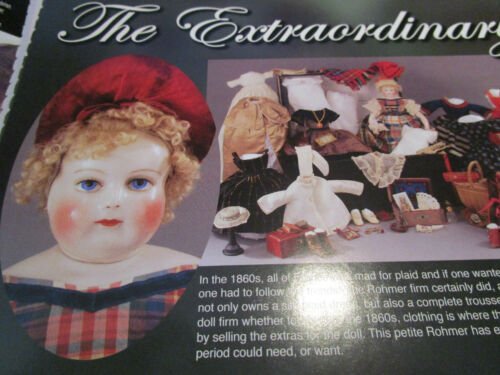 17pg ROHMER Doll History Article  //EXTRAORDINARY Illustrated //Canadas /& Robinson