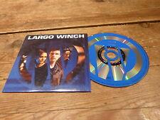LARGO WINCH - MICHEL COLOMBIER - MIRWAIS - PERRY BLAKE !!CD PROMO NAIVE / DUPUIS