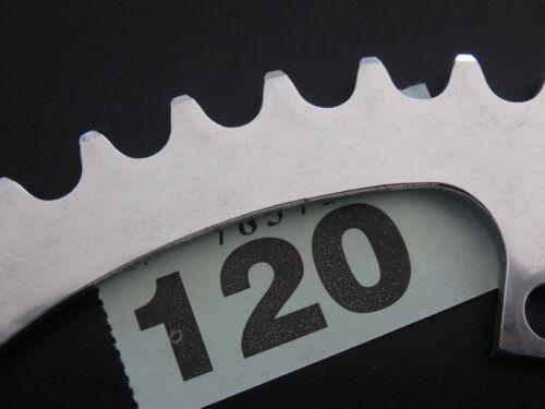 "NOS Spécialités T.A Criterium Track Chainring 44 to 58t 1//8/"" 3,17 mm 152 BCD"