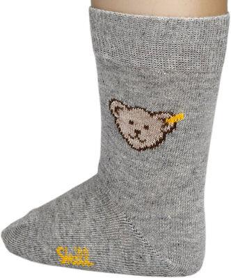 STEIFF® Mädchen 2er Set Socken Söckchen Ringel Rose//Beige Bär 62-116 2017-18 NEU