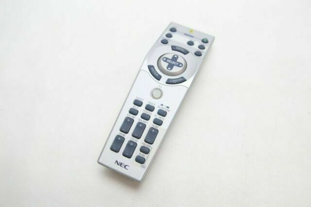 Remote Control for NEC MT1075 Projector with Laser Pointer