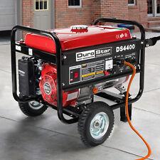 DuroStar 4400 Watt Quiet Portable Recoil Start Gas Powered Generator -RV DS4400