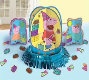 Peppa-Pig-Table-Decoration-Kit-Centerpiece-amp-Confetti-Birthday-Party ...