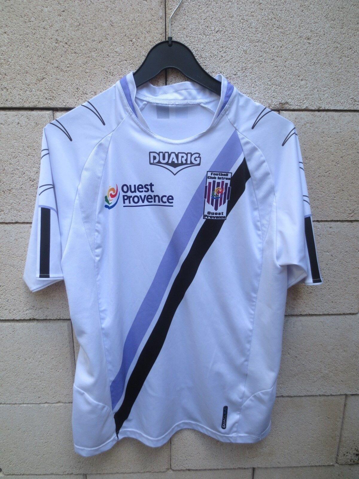 Maillot F.C ISTRES DUARIG football football DUARIG away shirt DUACLIM trikot maglia camiseta M 6b7f29