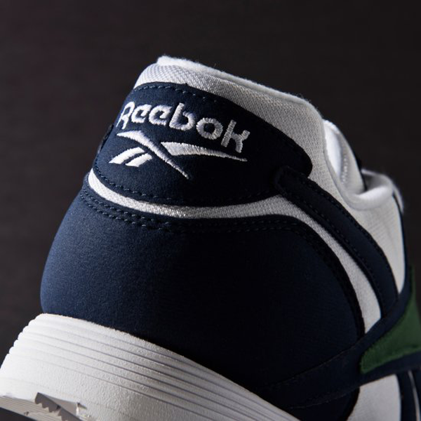 New Womens Reebok CLASSIC RAPIDE WL BS5802 WHITE NAVY NAVY NAVY GREEN US 5.5 - 8.0 TAKSE 1209ad