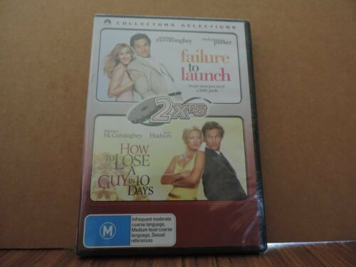 1 of 1 - Failure To Launch  / How To Lose A Guy In 10 Days (DVD, 2007, 2-Disc Set) new