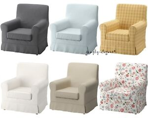 Ikea Cover Ektorp Jennylund Chair Armchair Slipcover Assorted Colors