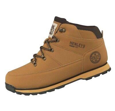 Henleys Men's Oakland Casual Fashion Boots Honey