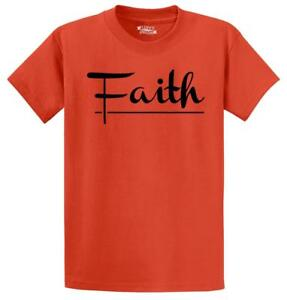 Mens-Faith-T-Shirt-Religious-Christian-God-Shirt