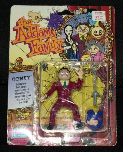 1992 Playmates Addams Family LURCH action Figure NRFP
