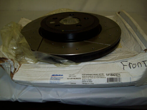 AC DELCO ROTOR FRONT  1#19183625 18A2371 VARIOUS  DODGE CHARGERS