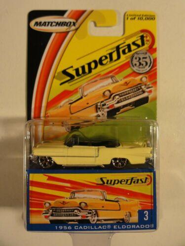 Matchbox Superfast 2004-1956 Cadillac Eldorado Nr 3 NEU-OVP