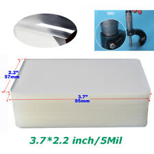 100 Sheets 374224 Inch Pvc Flap Glossy Laminating Pouch Film 5mil