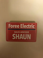 FOREE ELECTRIC ID BADGEShaun of the DeadZombie Hunter Bumper Stickers