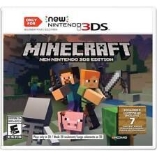 Minecraft: New Nintendo 3DS Edition (New Nintendo 3DS, 2017)
