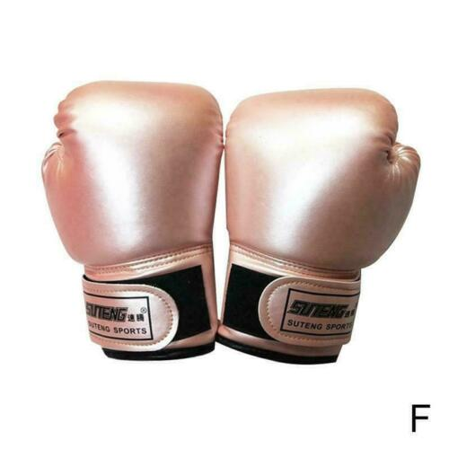 Kinder Boxhandschuhe For Fun Muay Thai Sanda Kampfkünste Stanzen Handschuhe R5C6