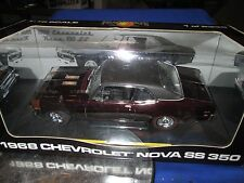 *RARE* 1/18 GMP  1968 Chevrolet Pro Street Nova  maroon 1 of 2335 peachstate