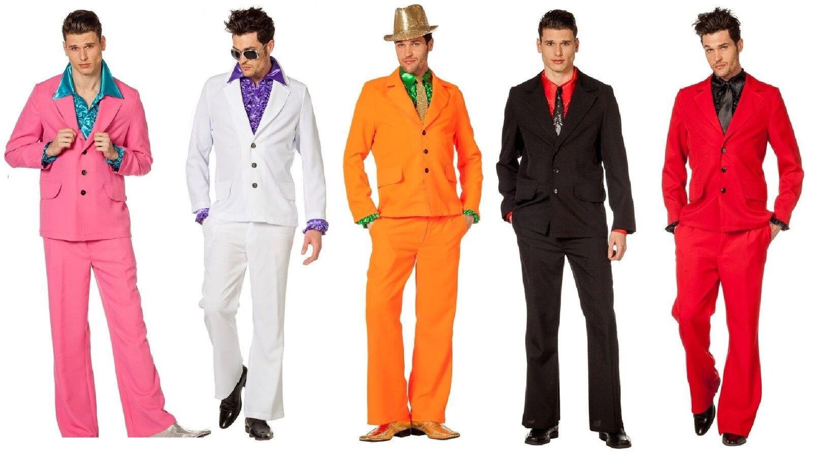 Disco Anzug Kostüm Herren 70er 80er Jahre Hippie Party Discoanzug Discokostüm | Verkauf Online-Shop  | Reichhaltiges Design  | Neuer Eintrag